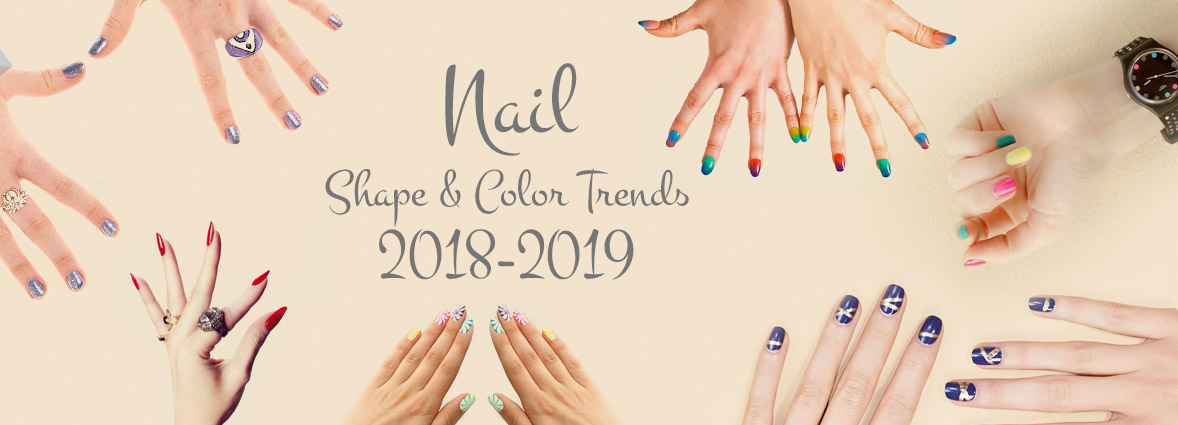 Black and White Salon - Nail Shape and Color Trends Blog