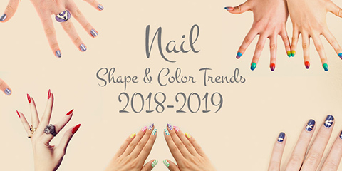 Black and White Salon - Nail Shape and Color Trends Blog - Main