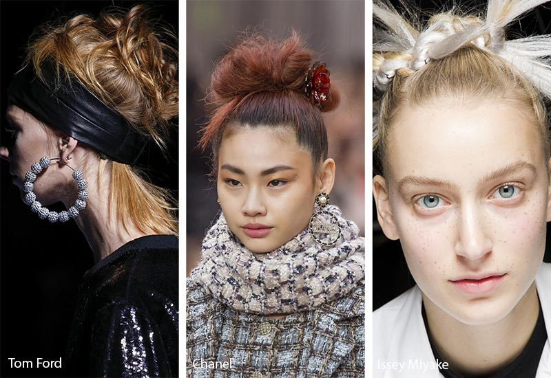 Black-and-White-Salon-Dubai-Blog-Hair-Style-Trends-Center-Messy-Buns