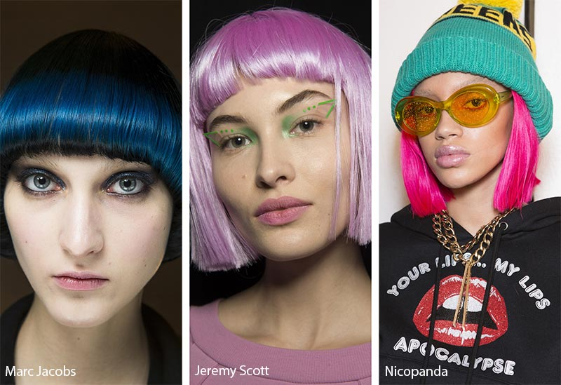 Black-and-White-Salon-Dubai-Blog-Hair-Style-Trends-Neon-Bobs
